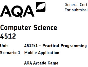 AQA Mobile Phone Application